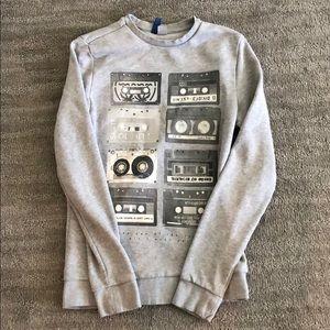 H&M - Men's Grey sweatshirt
